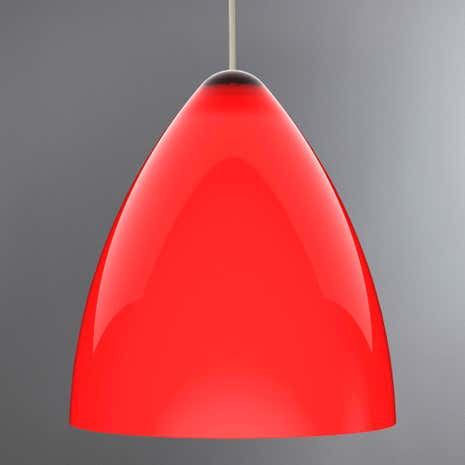 Funk 27 Red Light Shade