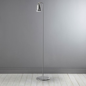 Nexus Chrome Floor Lamp