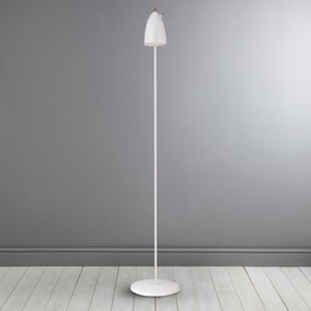 Nexus White Floor Lamp