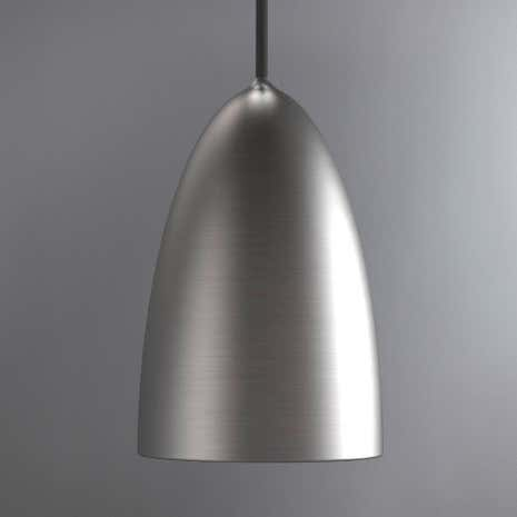Nexus Brushed Steel Ceiling Pendant