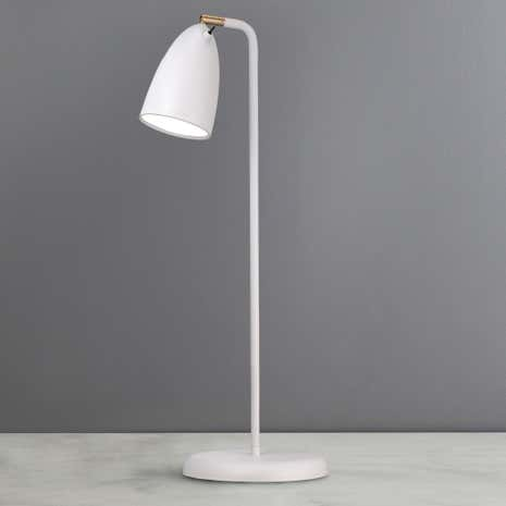 Nexus White Table Lamp