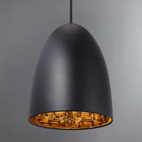 Nexus Large Black Ceiling Pendant