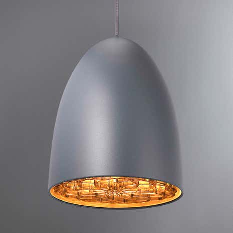 Nexus Large Grey Ceiling Pendant