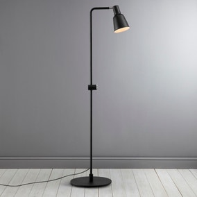 Patton Black Floor Lamp