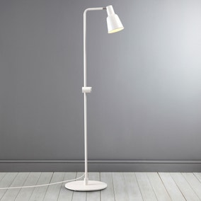 Patton White Floor Lamp