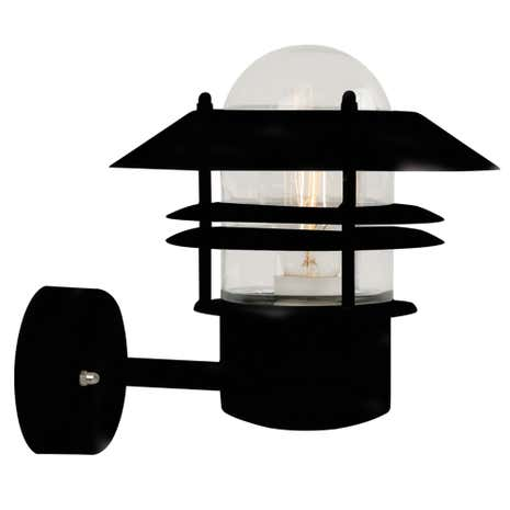 Blokhus Black Wall Light