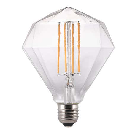 Avra Diamante Filament Effect LED E27 Bulb