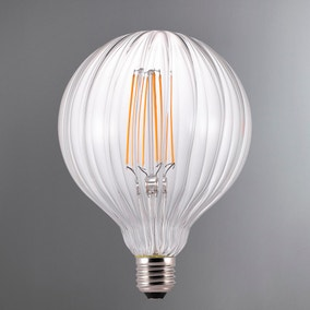 Avra Stribes Filament Effect LED E27 Bulb