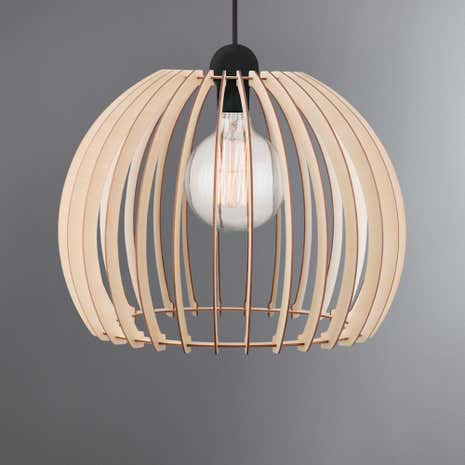 Nordlux Chino Large Wood Light Pendant