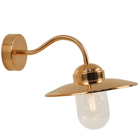 Luxembourg Copper Outdoor Wall Light