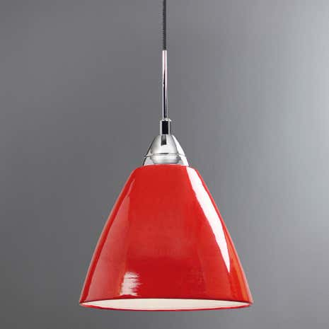 Read Red Ceiling Pendant