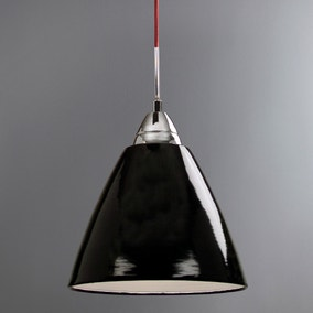 Read Large Black Ceiling Pendant