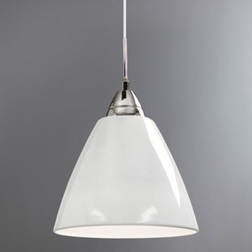 Read Large White Ceiling Pendant