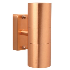 Nordlux Tin Copper Double Wall Light