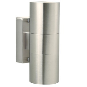 Nordlux Tin Stainless Steel Double Wall Light