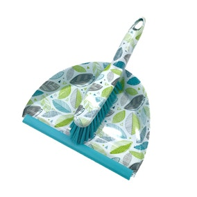 Scandi Leaves Dustpan and Brush