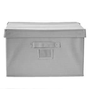Spring Green Large Grey Storage Box