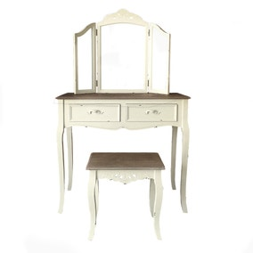 Camille Ivory Dressing Table Set
