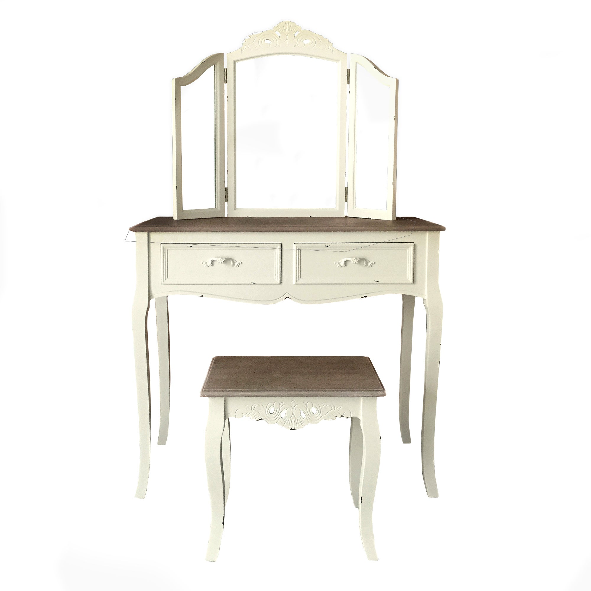 Dressing Tables: Mirrored & Oak Dressing Tables