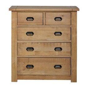 Fenton Pine 5 Drawer Chest