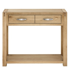 Hastings Solid Oak Console Table
