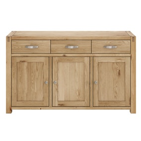 Hastings Solid Oak Large Sideboard