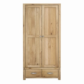 Hastings Oak Gents Wardrobe