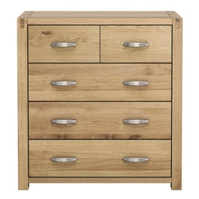 Hastings Oak 5 Drawer Chest