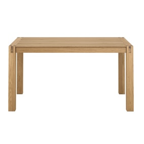 Hastings Solid Oak Fixed Top Dining Table