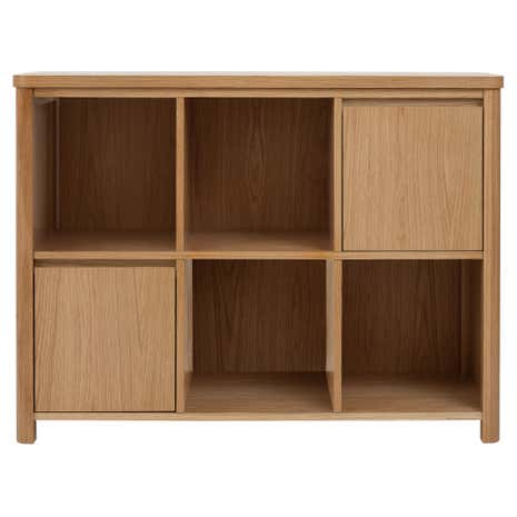 Jasper Oak Small Bookcase