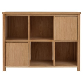 Jasper Oak Small Bookcase Loz 30 Percent Off Ws15 Exclusive To Dunelm