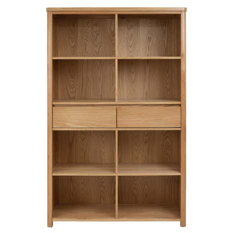 Jasper Oak Tall Bookcase