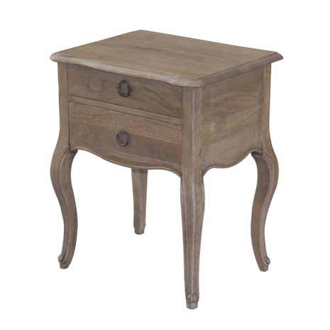 Amelie 2 Drawer Bedside Table