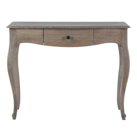 Amelie console table dunelm for Sofa table vs console table