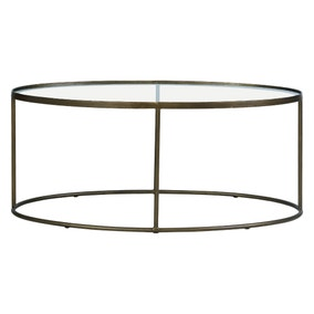 Pimlico Antique Brass Coffee Table