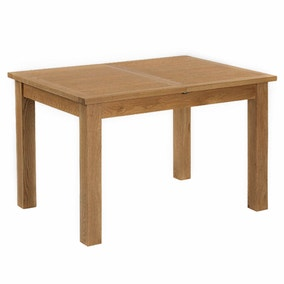 Sidmouth Oak Compact Extending Dining Table