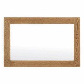 Sidmouth Oak Small Wall Mirror