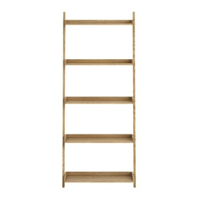 Sidmouth Oak Wide Ladder Bookcase