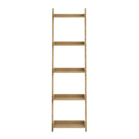 Sidmouth Oak Narrow Ladder Bookcase