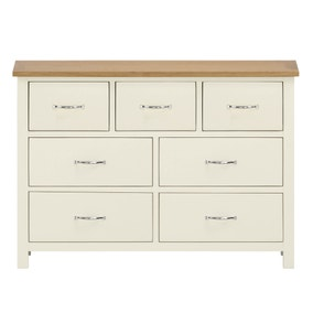 Sidmouth Cream 7 Drawer Chest