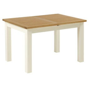 Sidmouth Cream Compact Extending Dining Table