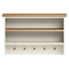Sidmouth Cream Dresser Top Wall Unit