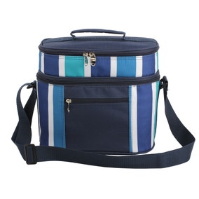 Blue Picnic Bag and Picnic Set