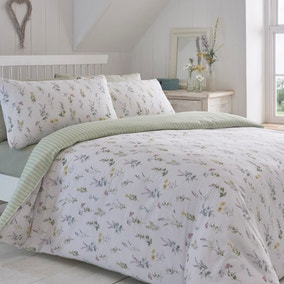 Healing Garden Duvet Cover and Pillowcase Set