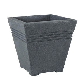 Square Charcoal Milano Planter