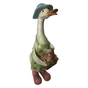 Mrs Duck Ornament