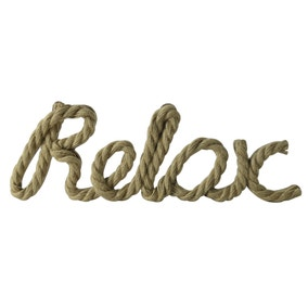 Relax Rope Ornament