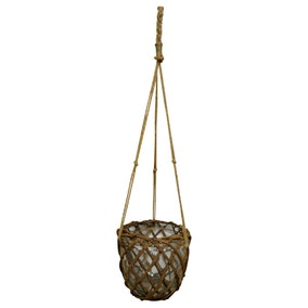 Wicker Hanging Planter