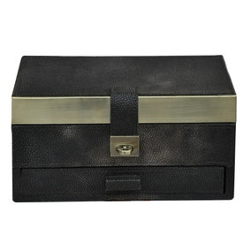 Dorma Faux Shagreen Jewellery Box