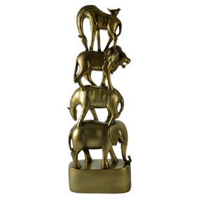 Safari Stacking Animals Ornament